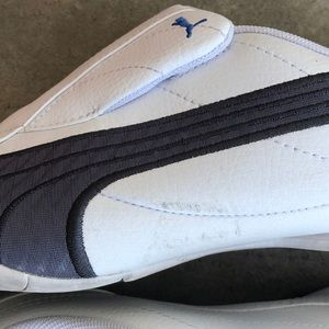 Puma Shoes | Mens Tergament Sport White Sneakers | Poshmark